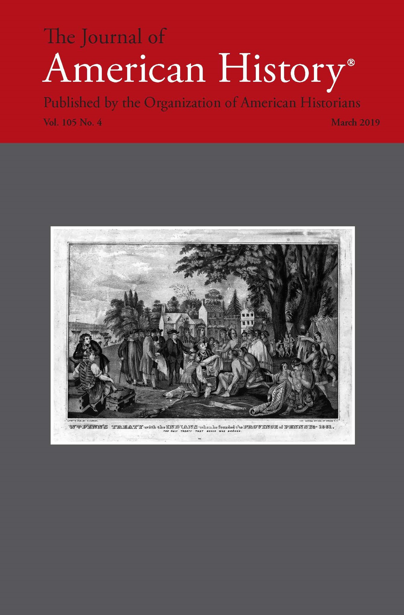 What's in the March Issue of the Journal of American History?